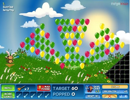 Balonlara Nişan Al