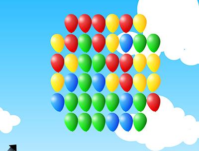 Dart ile Balonları Vur